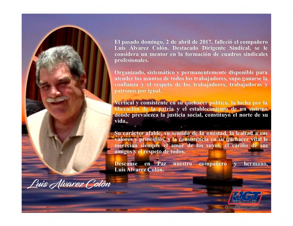 Luis Alvarado UGT