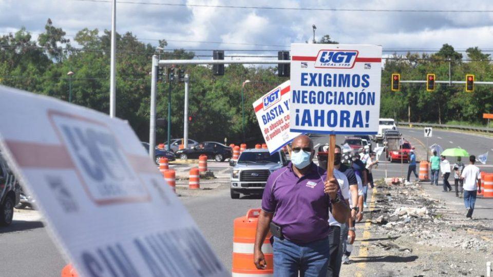 Manifestación UGT HIMA