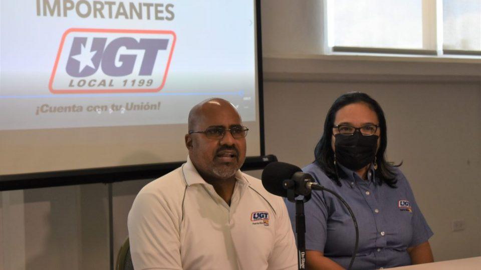 Gerson Guzman López, presidente UGT